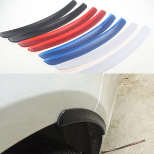 4 Colors Soft Universal Car Fender Flare Arch Sticker Fender Vents Protector Cover For Civic Hyundai Creta IX25 Tucson accessor  MartLion