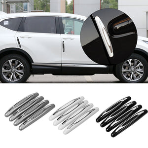 4 Pieces/pack Car Anti-Collision Strip Car Door Guard Protector Door Edge Trim Guard Styling Moulding Anti-Scratch Sticker  MartLion