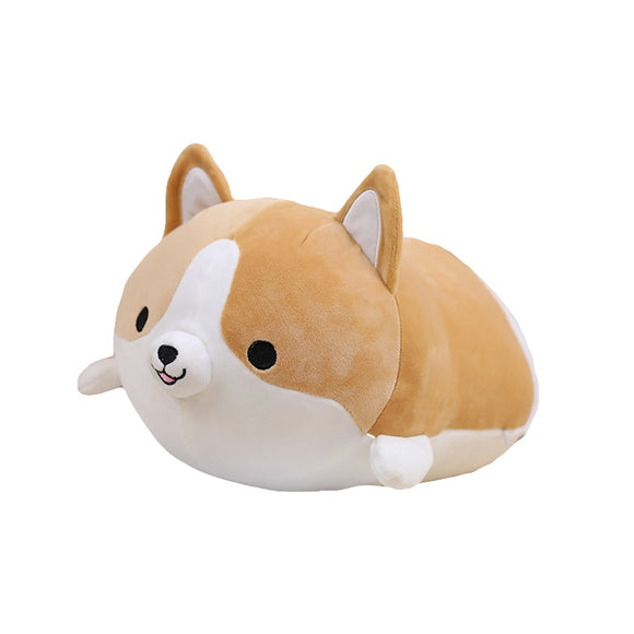 45/60Cute Fat Shiba Inu Dog Plush Toy Stuffed Soft Kawaii Animal Cartoon Pillow Lovely Gift for Kids Baby Children Good Quality
