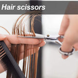 5.5/6 inch Cutting Thinning Styling Tool Hair Scissors Stainless Steel Salon Hairdressing Shears Regular Flat Teeth Blades  MartLion
