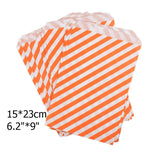 50pcs/ Lot treat candy bag high quality Party Favor Paper Bags Chevron Polka Dot Stripe Printed Paper craft Bags Bakery Bags  MartLion.com