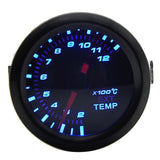 52mm Boost/Vacuum/Water Temp/Oil Temp/Oil Press/Voltage/Tachometer/Air Fuel Ratio/EGT Gauge Analog Blue Led+ Gauge Pods  MartLion