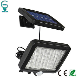 56 LED Outdoor Solar Wall Light PIR Motion Sensor Solar Lamp Waterproof Infrared Sensor Garden Light - Mart Lion  Best shopping website