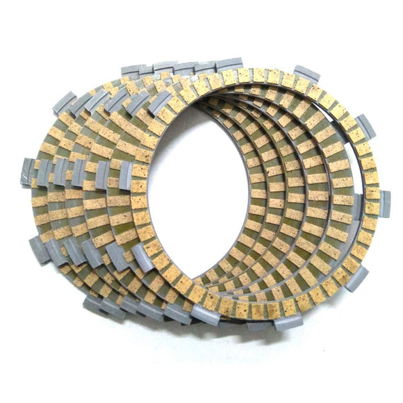 6 pcs Clutch Friction Plate For HONDA NV400C Shadow 400 NV400DC SW-T 400 SW-T 400A VT400C VT400C2 VT400C2F VT400CA  Classic 400  MartLion