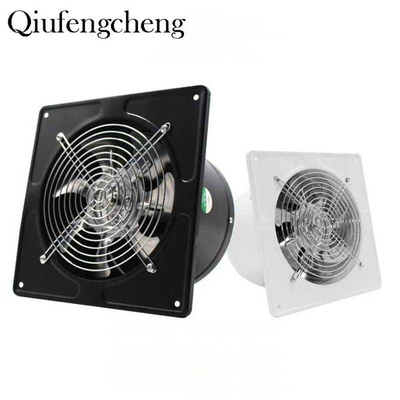 7.48inch Ventilator Extractor Wall Mounted 220V Exhaust Fan 45WLow Noise Home Bathroom Kitchen Garage Air Vent Ventilation - Mart Lion  Best shopping website