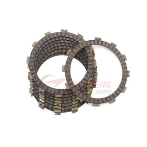 8 pcs For CRF450R 2002-2008 2009-2010 Efi CRF450X 2005-2018 CRF 450R 450X Motorcycle Clutch Friction Plates disc  MartLion