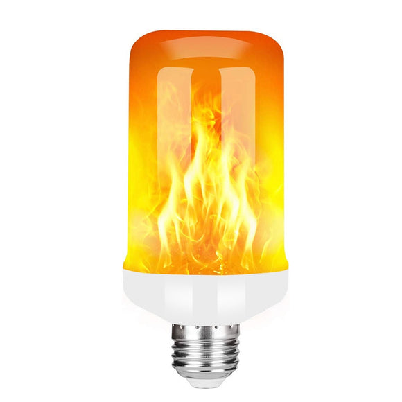 85-265V E27 LED Flame Lamp 9W 3 Modes With Gravity Sensor Fire Flame Effect Corn Bulb Flickering Emulation Fire Lights