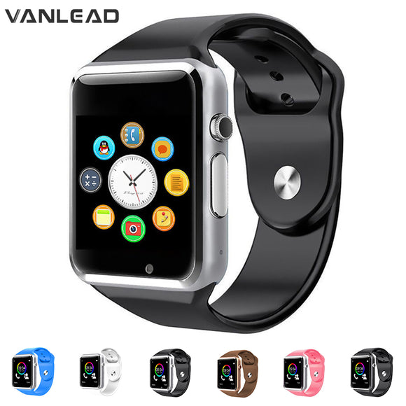 A1 WristWatch Bluetooth Smart Watch Sport Pedometer With SIM Camera Smartwatch For Android Smartphone Men women smartwatch  MartLion.com