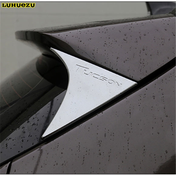 ABS Car Rear Spoiler Conner Rear Door cover Decorative Trims For  Hyundai Tucson 2015 2016 2017 2018 Accessories  MartLion