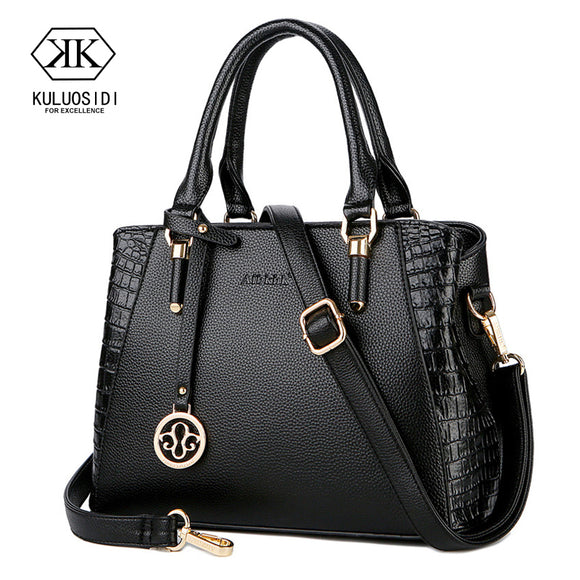 Alligator Luxury Handbag Women Bag Designer Genuine Leather Bag for Women 2018 Leather Handbags Ladies Hand Bags Sac a Main  MartLion