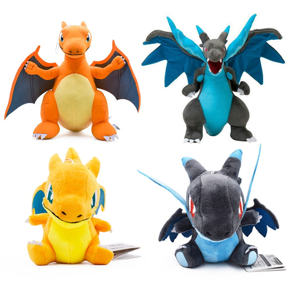 Anime 5 Style Charizard Catoon Plush Toys Doll Charizards Center Mega Evolution Soft Stuffed Animal Children Dolls Gift  MartLion