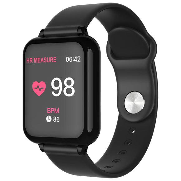 B57 smart watch fitness Bracelet heart rate monitor blood pressure multiple sport mode B57 men women smart watch wearable Watch  MartLion.com