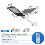 BSOD LED Solar Street Light IP65 Waterproof 20W 30W 50W 100W 150W 200W Led Street Light Led Solar Lamp Outside Solar Projector  MartLion.com