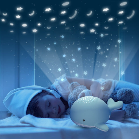 Beiens Night Lights for Kid Star Sky Projector Toy Baby Musical Mobile Light USB Charging Bluetooth Remote Control Christmas  MartLion