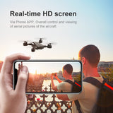 Best WiFi FPV RC Drone 4K 1080P Camera Folding Optical Flow Drone Wide-angle Real Time Aerial Helicopter Quadcopter 25 Minutes  MartLion.com