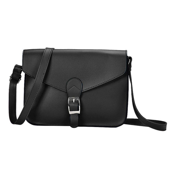 Brand Female bolsos 2017 New Fashion Women Bag Pu Leather Shoulder Bag Satchel Ladies Small Handbag Retro Women's Messenger Bags - Mart Lion  Best shopping website