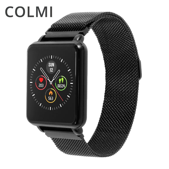 COLMI Land 1 Full touch screen Smart watch IP68 waterproof Bluetooth Sport fitness tracker Men Smartwatch For IOS Android Phone  MartLion.com