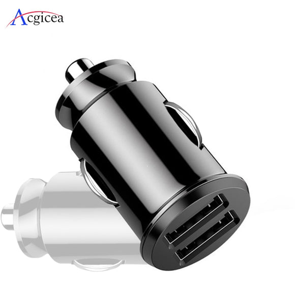 Car Charger For iPhone 7 8 Plus XR XS  IPad Mobile Phone Charger Fast Charging Dual USB Chargers For Samsung S8 A30 A50 Tablets  MartLion.com