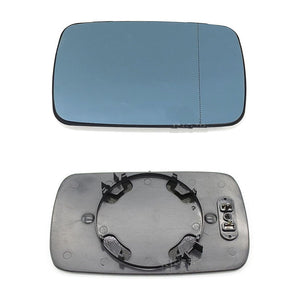 Car Replacement Left Right Blue Heated Wing Mirror Glass For BMW E39/E46 320i 330i 325i 525i 2001 2002 2003 2004 L/R  MartLion
