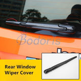 Carbon Fiber Color Light Fog Lamp Mirror Wiper Daylight Handle Exterior Garnish Trim Car Styling For Jeep Renegade Accessories  MartLion