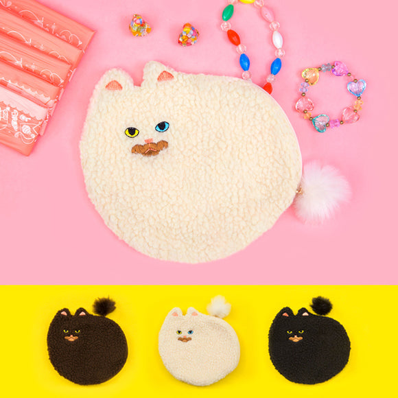 Cat Styling Handbag Kitten Bag Hair Ball Clutch Bag Cute Pet Storage Bag - Mart Lion  Best shopping website