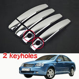 Chrome Exterior Door Handles Covers For Chevrolet Lacetti Optra Daewoo Nubira Suzuki Forenza Holden Viva Stickers Car Styling  MartLion