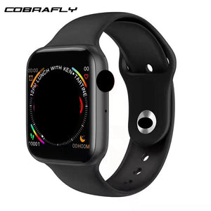 Cobrafly IWO 10 Smart Watch 1.54 inch Screen Bluetooth Call Dial Answer ECG Heart Rate Monitor PK IWO 8 Smartwatch for Men Women  MartLion