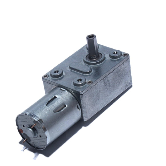 DC 6V Reduction Motor, High Torque Turbo Worm Geared Motor for Smart Equipment Range Hood Nesting Machine  MartLion
