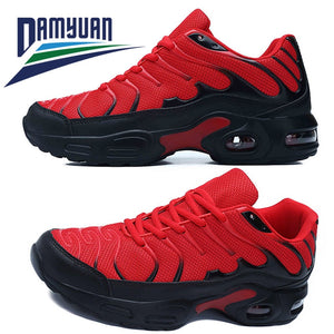 Damyuan Sneakers for Men Air Cushioned Breathable Men's Sneakers, Men Winter Sneakers Casual Shoes Men Black Men Shoes Running  MartLion