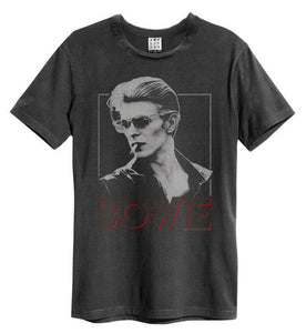 David Bowie '80s Era Smoking' T-Shirt - Amplified Clothing - NEW & OFFICIAL!  MartLion