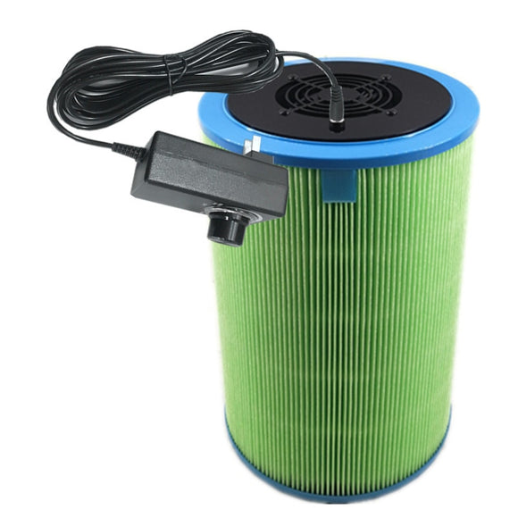 Diy Xiaomi Portable Air Purifier Homemade Air Cleaner Compound Hepa Filter Remove Smoke Odor Dust Particles For Home And Car  MartLion