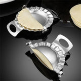 Dumpling Tools Jiaozi Maker Mould Eco-Friendly Pastry Stainless Steel Kitchen Tools Dough Cutter for Kitchen Making Tools