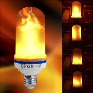 E26 E27 LED Flame Effect Fire Light Bulb SMD2835 Flickering Decorative Flame Lamp 1200K AC85V~265V  MartLion