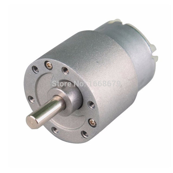 EBOWAN 37GB-500 Electric DC 12 Volt Geared Motor DC 12v 6v 3.5-500RPM Reduction Reversed Motor  MartLion