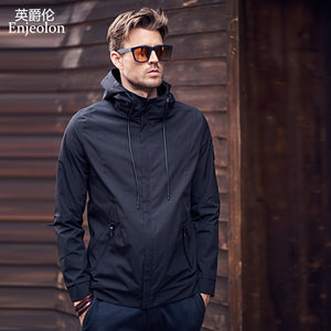 Enjeolon 2019 Autumn Winter Bomber Jacket Men Windbreaker Mens Jackets Coats Streetwear Wind Breaker Jacket Men clothes JK0324  MartLion