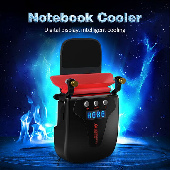 Exhaust Radiator Notebook Laptop Cooling Exhaust Cooler Fan USB Intelligent Temperature Control Cooling Pad Computer Accessories