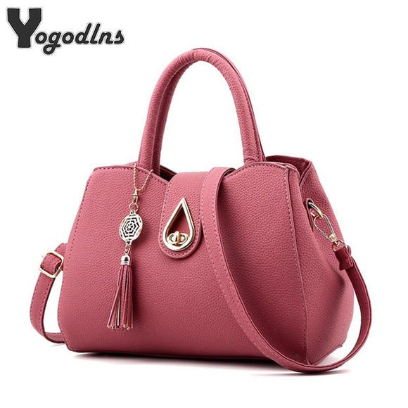 Famous Brand Women Bag Top-Handle Bags 2020 Fashion Women Messenger Bags Handbag Set PU Leather totes Bag  MartLion