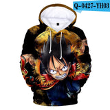 Fashion 3D One Piece Anime Hoodies Men pullovers Women Hooded Casual Long Sleeve 3D Print One Piece 3D Hoodies Mens Sweatshirts  MartLion