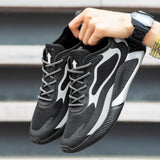 Fashion Men Shoes Super Light Lace-up Exercise Sneakers Popular Man Shoes Breathable Male Trainers Chaussure Homme Big Size39-46  MartLion