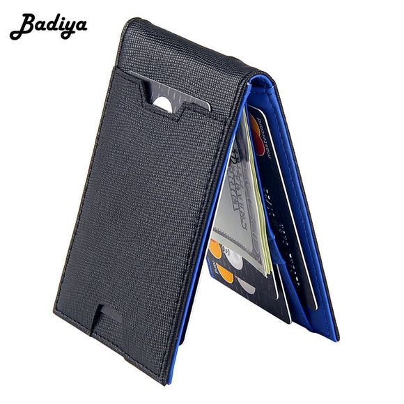 Fashion Men Wallet Casual Multi-card Position Credit Card Holder Ultra Thin Coin Purse For Men Portable Bifold Male Clutch Bag - Mart Lion  Best shopping website