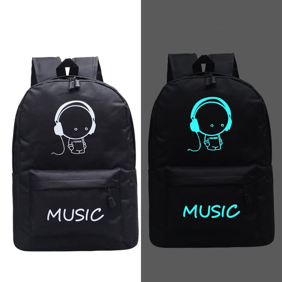 Fashion New Luminous Backpack Animation School Bags For Boy Girl Teenager USB Student Bags Men Reflective Leisure Shoulder Bag  MartLion