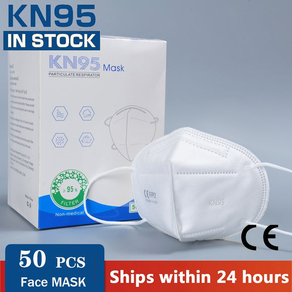 Fast shiping KN95 Mask Filters FFP2 Reusable Protective Face Masks for virus protection Filtration Dust Mouth caps Mask cover