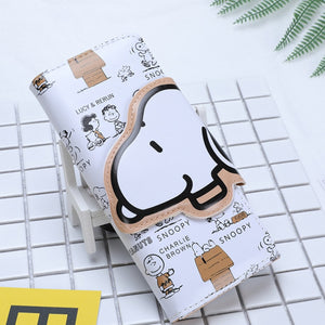 Foreign trade cartoon wallet Snoopy BOY'S and GIRL'S long wallet cartoon cute cartoon wallet - Mart Lion  Best shopping website