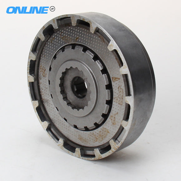 Free shipping 3 Plate Manual Engine Clutch Assembly FOR LIFAN 125cc Dirt pit Bike Horizontal Engine Parts  MartLion