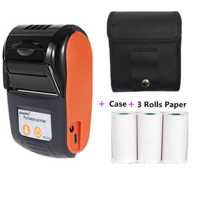 GOOJPRT Wireless Mini 58mm Bluetooth Printer Portable Thermal Receipt Printer For Mobile Phone Android iOS Windows Pocket Bill  MartLion.com