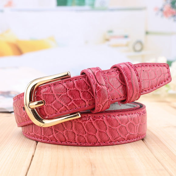 Genuine Leather Pure Women's Belt Pin Buckle jeans Decorative Wide Ceinture For woman Fashion Red Black Mei red Belts