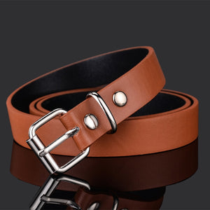 Good Qaulity Children Fashion Leather Belts For Boys Girls Kid Waist Strap Pu Waistband For Trousers Jeans Pants Adjustable Z30  MartLion