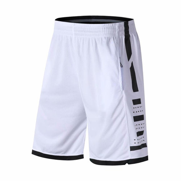 Sport Men Short Basketball Jersey Knee Length Zipper Pocket Running Shorts Male Loose Quick-dry Breathable Gym Short Pants  MartLion