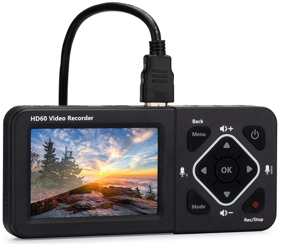 HD60/D720 Video Recorder Record Full HD Videos HD Video Capture Box Ultimate-Capture Video from HDMI, RCA, VHS, VCR, DVD, screen  MartLion.com