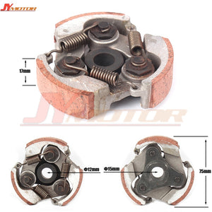 HEAVY DUTY 3 Shoes Clutch Plate 47cc 49cc Mini Pocket PIT Quad Dirt Bike ATV Buggy  MartLion